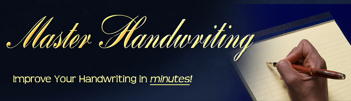Master Handwriting: Improve your handwriting in minutes