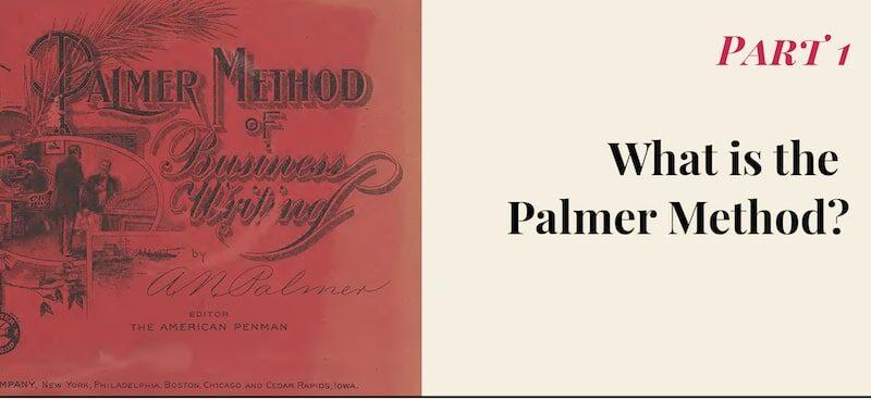 The Palmer Method Intro Series